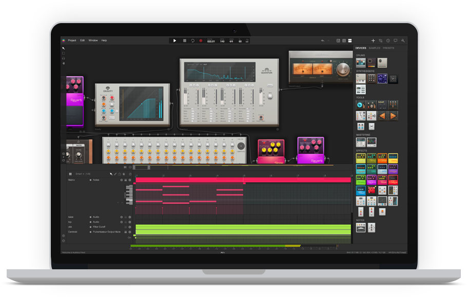 Audiotool Make Music In Your Browser