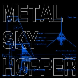 Cover of track METAL SKY HOPPER by pot