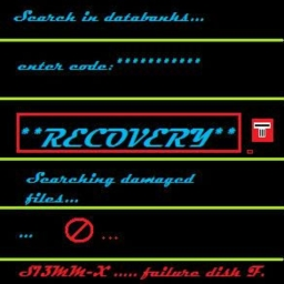"Cover of track ""RECOVERY"" by ARCHI"