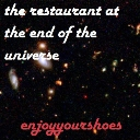 Cover of track The Restaurant at the End of the Universe by shoes