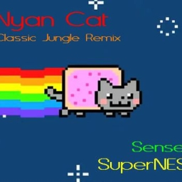 Cover of track Nyan Cat (Classic Jungle Remix) by SenseiSNES