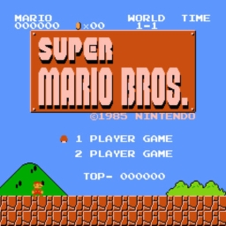 Cover of track Super Mario Bros. by necrosato