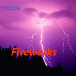 Cover of track Fireworks by Skyvoicer