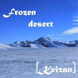Cover of track Frozen desert by Keizan