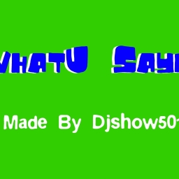 Cover of track WhatU Sayed by Djshow5011