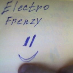 Cover of track Electro frenzy by Frutto