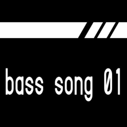 Cover of track bass song 01 for menu by pot
