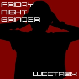Cover of track FRIDAY NIGHT GRINDER by weetabix