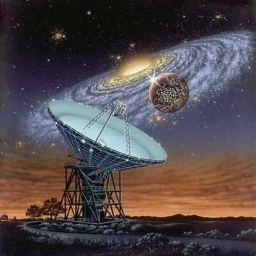 Cover of track SETI succeeds by candallred