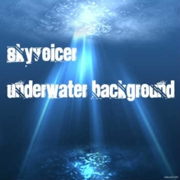 Cover of track Underwater Background by Skyvoicer