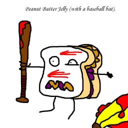 Cover of track Death by Peanut Butter and Jelly by natesaysrawr