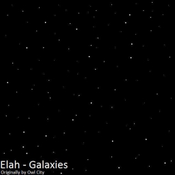 Cover of track Galaxies by Elah