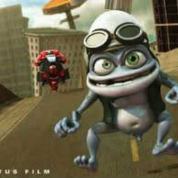 Cover of track crazy frog _beast by nancynike