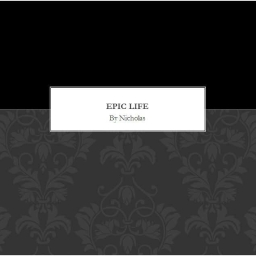 Cover of track epic life by nicholas01