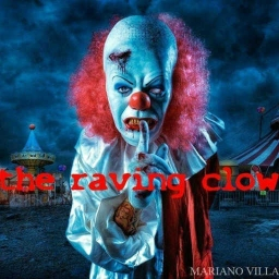 Cover of track the raving clown by ABADDON