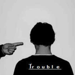 Cover of track There (The Trouble) Be There (Not here) by RoGiH