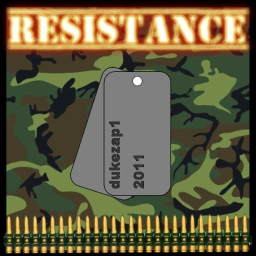 Cover of track Resistance by dukezap1