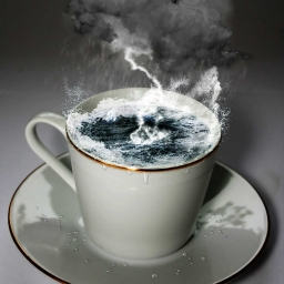 Cover of track Storm in a Teacup by The Rebellion