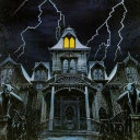 Cover of track haunted house by ABADDON
