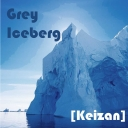 Cover of track Grey Iceberg by Keizan
