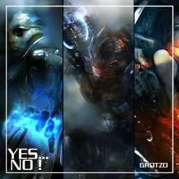 Cover of track YES... NO ! by Grotzo