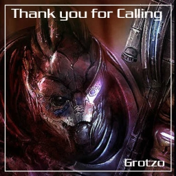 Cover of track Thank you for calling by Grotzo