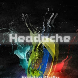 Cover of track Headache by Madwolf
