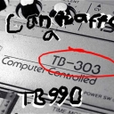 Cover of track I Can't Afford a 303 by TB990