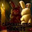 Cover of track Canniballistic Bunnies by God vs. Fire