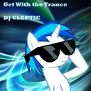 Cover of track GET WITH THE TRANCE! by <_>