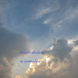 Cover of track a cumulus by RealNebulae