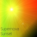 Cover of track Super Nova Sunset by daanbread