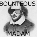 Cover of track Bounteous Madam by wbadart