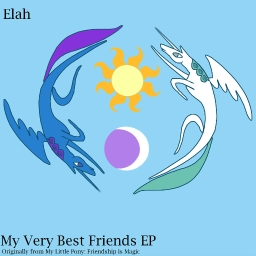 Cover of track My Very Best Friends by Elah