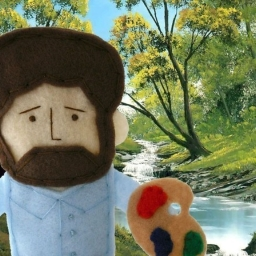 Avatar of user Bob Ross Acid Trip