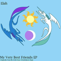 Cover of track My Very Best Friends (Twilight Sparkle's Algebraic Remix) by Elah