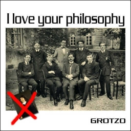 Cover of track I love your philosophy by Grotzo