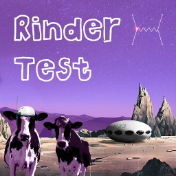 Cover of track rinder test by heliotrope