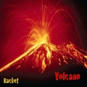 Cover of track Volcano by Racket