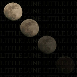 Cover of track Little Lune (The Lullaby) by Gotita de Luna