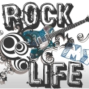 Cover of track Rock my life!!! by dg1995