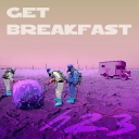 Cover of track get breakfast by heliotrope