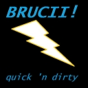 Cover of track Quick 'n Dirty by Brucii!