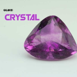 Cover of track crystal by Quake