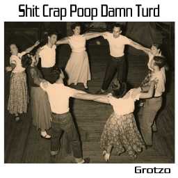Cover of track Shit Crap Poop Damn Turd by Grotzo