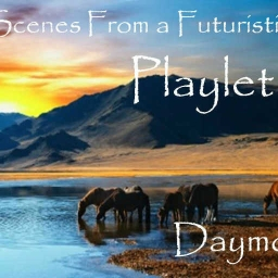 Cover of track Scenes From a Futuristic Playlet (Original Mix) by Daymo