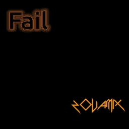 Cover of track Fail, an experiment into nothing. (REMIX CONTEST) by zovamix