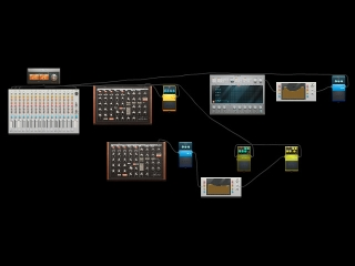 Cover of track Saunter by B4D-W0LF