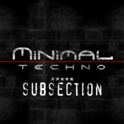 Cover of track minimal techno by subsection
