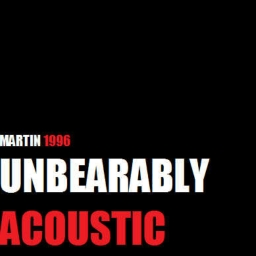 Cover of track Unbearably Acoustic by Martin